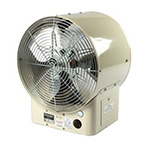 High Capacity Horizontal Blower Heater