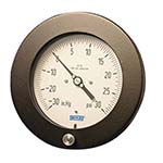 Model 212.25 WIKA Bourdon Tube Pressure Gauges - Hinged Ring Process Gauge, Brass Wetted Parts