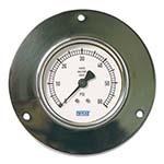 Model 212.40PM & 213.40PM WIKA Bourdon Tube Pressure Gauges - Paper Machine Gauge