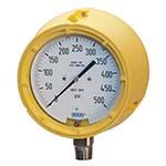 Model 232.34DD WIKA Bourdon Tube Pressure Gauges - Solid-Front Process Gauge Direct Drive