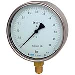 Model 312.20 WIKA Test Gauges - Bourdon Tube Pressure Gauge with ±0.25% Accuracy