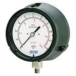 Model 612.34 & 632.34 WIKA Low Pressure Capsule Gauges - Solid-Front Process Gauge