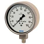 Model 632.50 & 633.50 WIKA Low Pressure Capsule Gauges - Process Industry Series