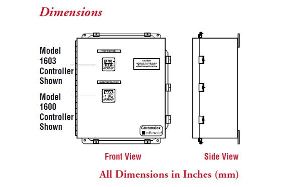 Mini San Jose >> 305592 Chromalox | 4224 Mini SCR Control Panel | Valin