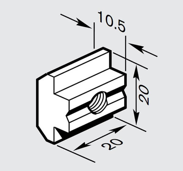 10mm t blocks CHART