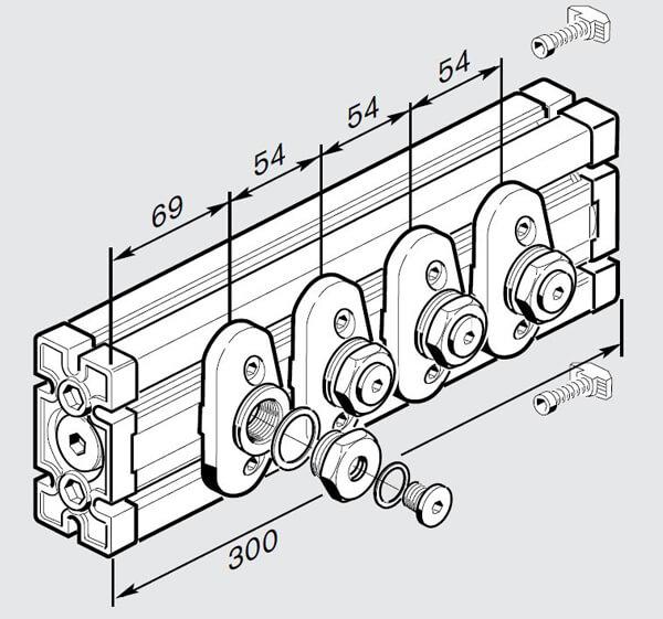 pre assembled air bar 10mm CHART