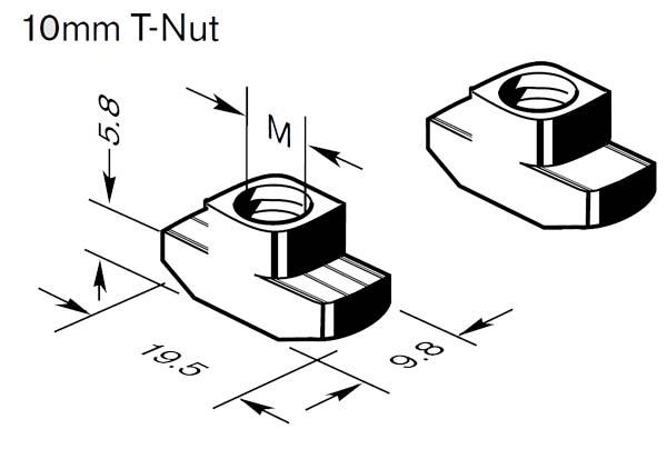 3842530287 T Nut Bosch Rexroth Valin