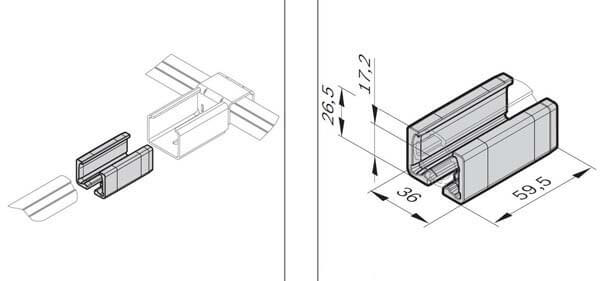 xlean holder adapter profile