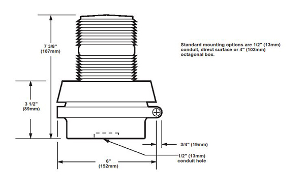 edwards beacon dimensions