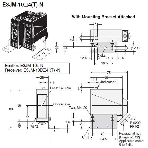 e3jm 10m4t us photoelectric sensor omron valin rh valinonline com Diagram of Wiring a Photoelectric Smoke Detectors Photoelectric Sensor Circuit