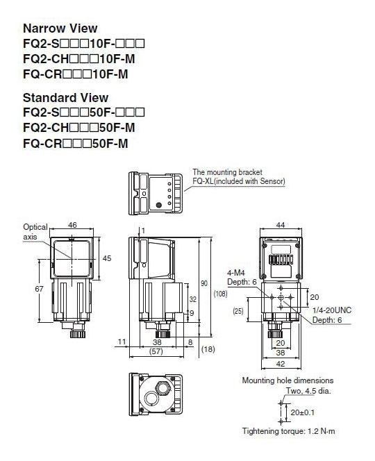 fq2-s20010f omron vision sensor smart camera