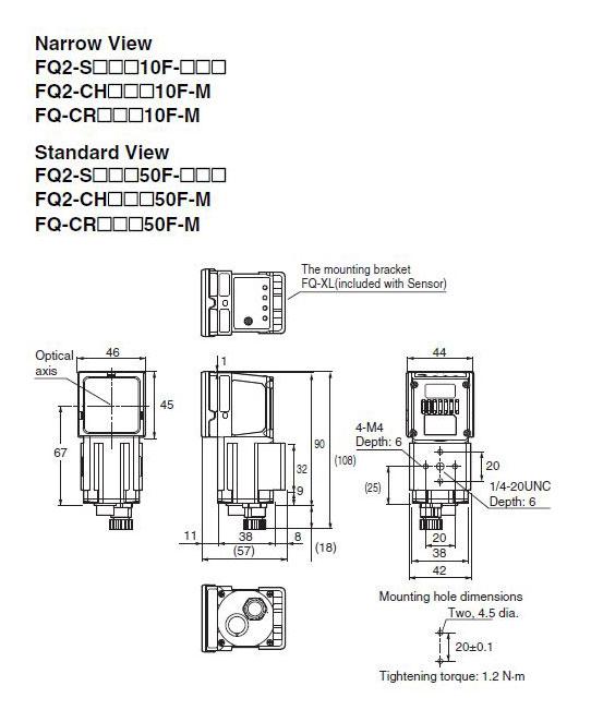 fq2-s40050f-m omron vision sensor smart camera