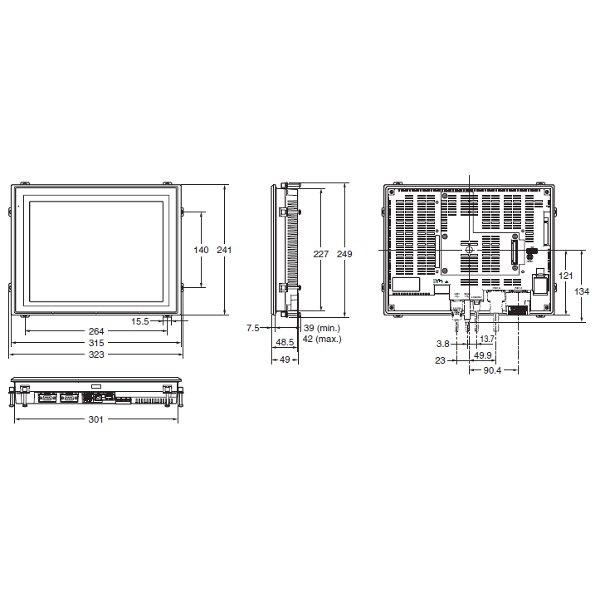 NS12-TS01B-V2   NS12-V2 Programmable Terminal   Omron - Valin