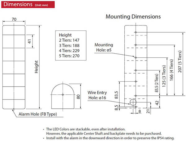 wme 402a rygb wme a series 80mm led signal tower patlite valin rh valinonline com