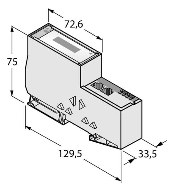 Turck gateway for BL20 input output system