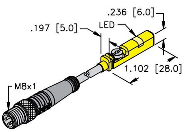 turck inductive cylinder position picofast pur sensor