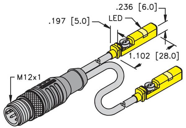 turck inductive cylinder position unt sensor