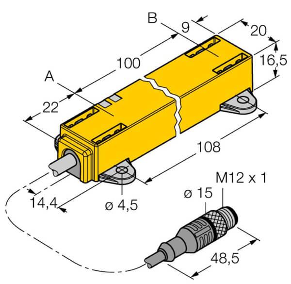 turck inductive linear position sensor 2 profile