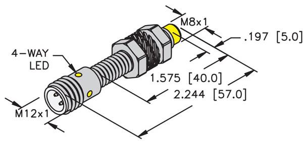 NI4U-EG08-AP6X-H1341 TURCK | Inductive Sensor | Valin