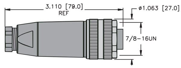 turck minifast field wireable connector profile