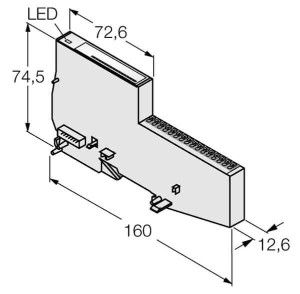 turck modular industrial input output system profile