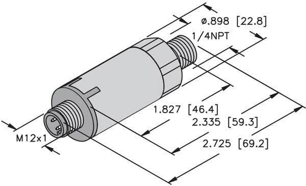 turck pt1 series pressure transmitter 13 profile
