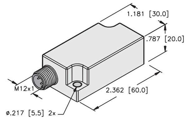 turck q20l60 housing dimensions