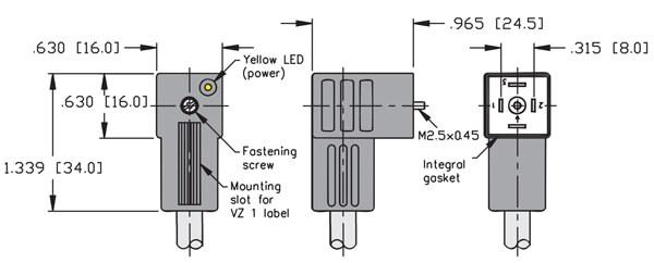 turck valve connector type c 8mm