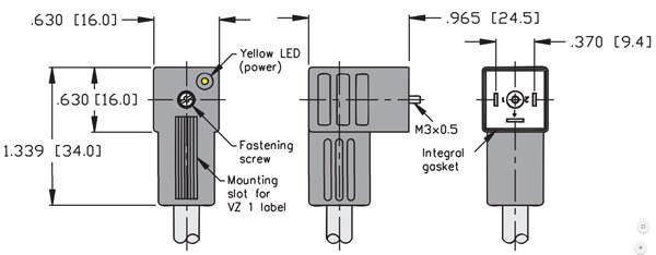 turck valve connector type c 9o4mm