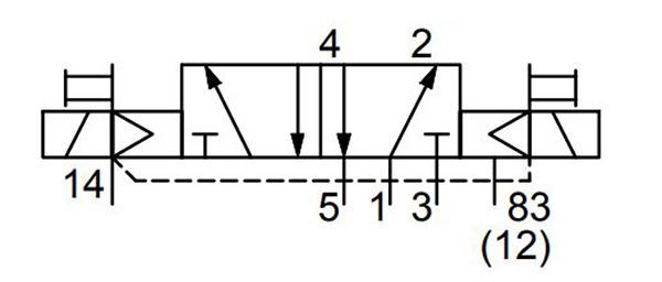 valin ac-5vlv-0004 directional control valve series 501 drawing