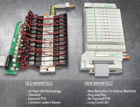 Old and New Manifold Comparison