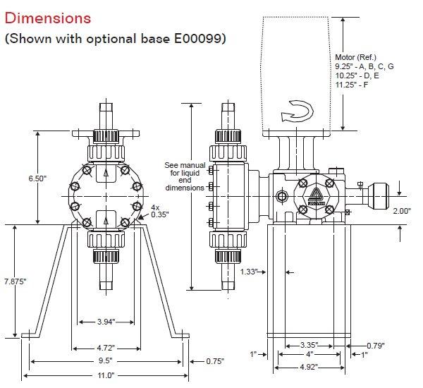 walchem lkn32f-s6 lkn series pump meter