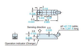 panasonic gf6 sensor dimensions