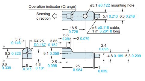 panasonic gh8 sensor dimensions