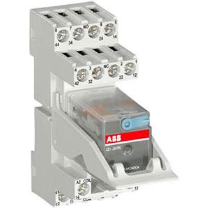 ABB CR-M Range Pluggable Miniature Relays Distributors