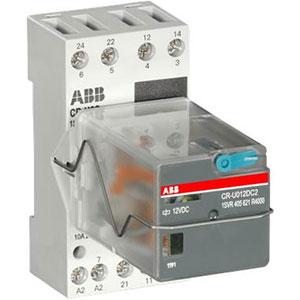 ABB CR-U Range Pluggable Universal Relays Distributors