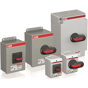 ABB Enclosed Manual Motor Controllers & Disconnects Distributors