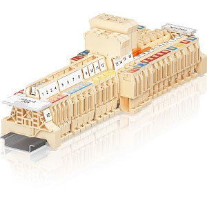 ABB IDC Pluggable Terminal Blocks for Railway Distributors