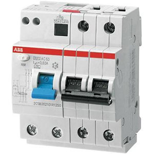 ABB Residual Current Circuit Breakers with Overcurrent Protection Distributors