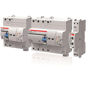ABB Residual Current Devices with Automatic Test Distributors