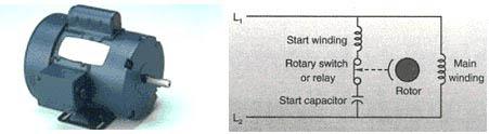 Capacitor Start/Induction Run Motor