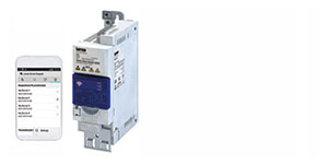 Lenze i500 Frequency Inverter Features WLAN Module