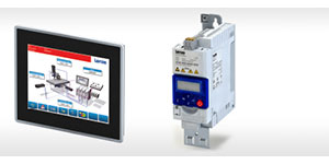 Lenze Smart Automation Solution Teams Up Panel Controller and Frequency Inverter