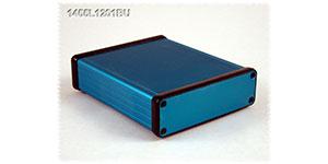 Blue Anodized Extruded  Aluminum Enclosure