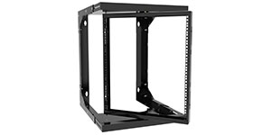 Adjustable Depth Pivoting Wall Mount Rack