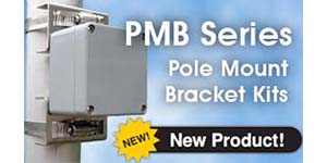 PMB Series Pole Mount Bracket Kits
