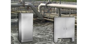 Floor Mounted or Freestanding Stainless Steel Enclosures
