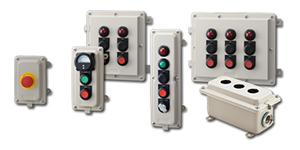 IDEC EC2B Series control stations and accessories