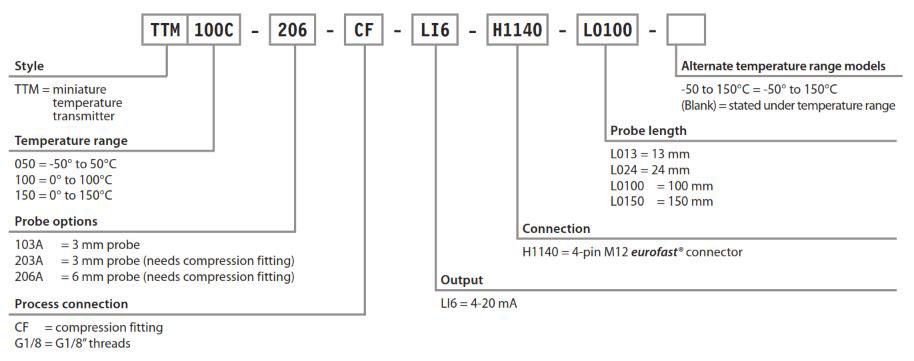 TURCK Temperature Transmitters
