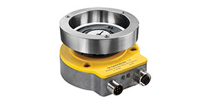 Contactless QR24 Rotary Inductive Sensor with CANopen Communication